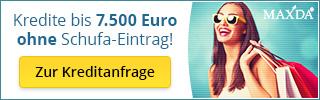 Kredite bis 5.000 Euro ohne Schufa-Eintrag! Zur Kreditanfrage