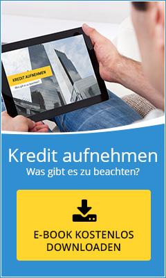 Kostenloses Ebook: Kredit aufnehmen - was gibt es zu beachten?