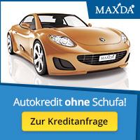 Maxda – Kredite auch ohne Schufa