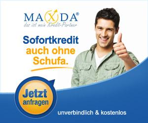 Maxda Sofortkredit